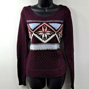 Like New! American Eagle Fair Isle Sweater S